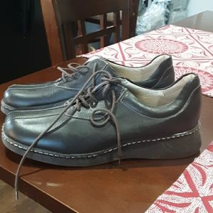 NAVID O NADIA LEATHER SHOES BROWN 40